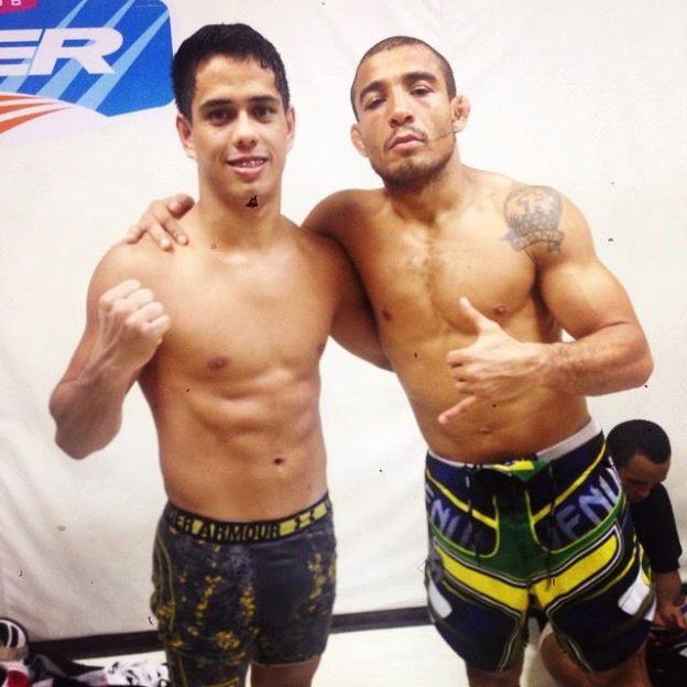 Jafel é parceiro de treinos de José Aldo, do UFC. Foto: Arquivo Pessoal