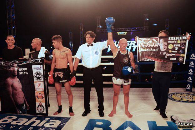 Momento em que Koreano é declarado vencedor. Foto: WGP/Divulgação