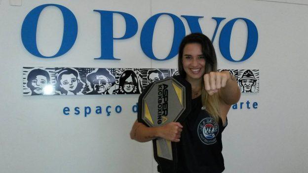 Fanta está motivada para a sequência de sua carreira. Foto: Bruno Balacó/O POVO