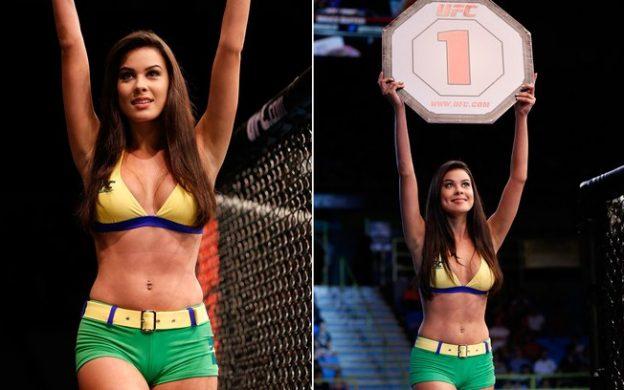Camila atua no UFC desde 2013. Fotos: Divulgação