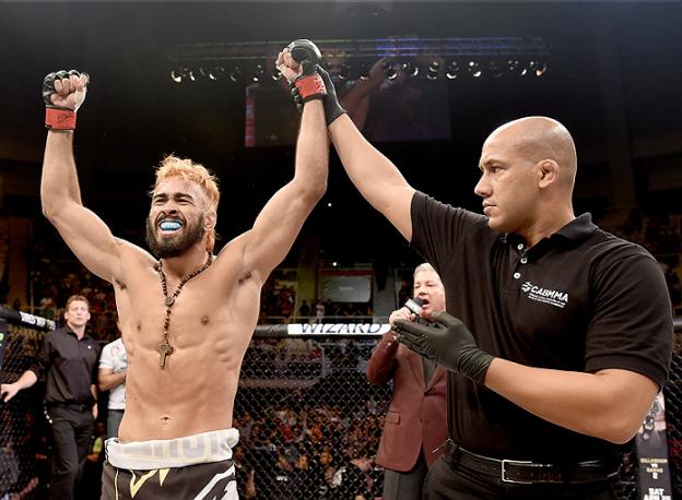 Pepey vai em busca da 5ª vitória no UFC. Foto: UFC/Divulgação