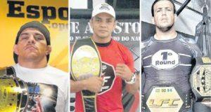 No Chance, Carlos Índio e Apaga-Luz têm lutas marcadas. Fotos: Bruno Balacó/Bruno Balacó e Divulgação