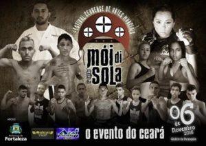 Evento terá lutas em tatame, ringue e octógono. Foto: Divulgação
