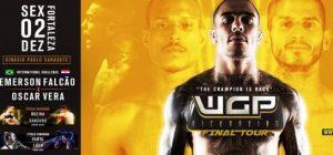 Grande destaque do evento será o retorno de Emerson Falcão aos ringues. Foto: Divulgação