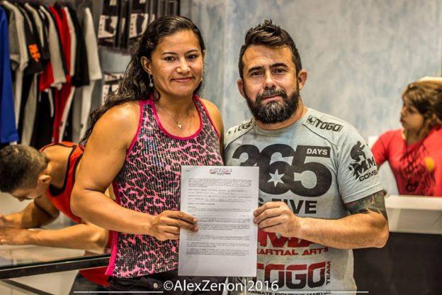 Rosy Duarte, que enfrenta Liziane Uga-Uga, é uma das atrações do evento. Foto: Alex Zenon