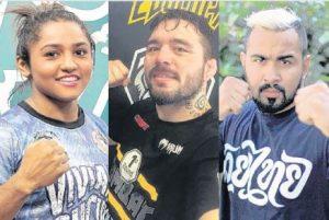 Sucuri, Jason e Pepey querem lutar em março no CFO. Foto: Julio Caesar/Arquivo Pessoal/Julio Caesar