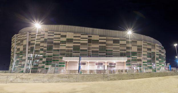 CFO tem capacidade para receber até 20 mil espectadores. Foto: Stephan Eliert.