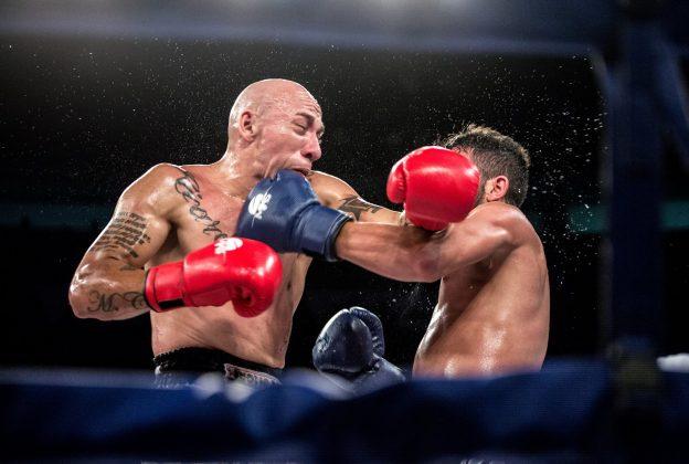 Koreano travou uma luta duríssima com Leuch e se saiu vencedor. Foto: Stephan Eliert