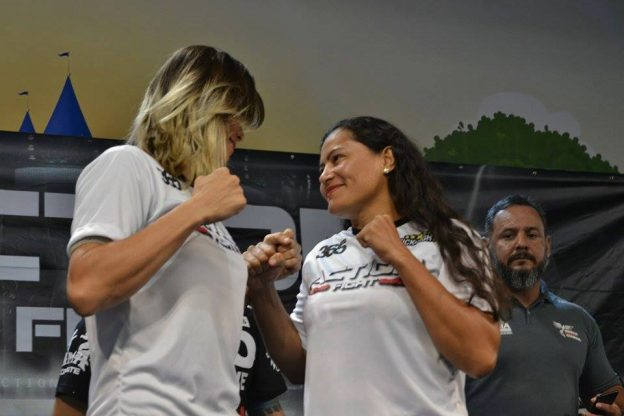 Rosy Duarte x Liziane Silveira fazem a luta principal. Foto: Arquivo Pessoal