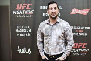 Joe Carr é vice-presidente sênior internacional do UFC AURÉLIO ALVES, ESPECIAL PARA O POVO