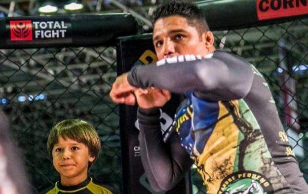 """Alexandre """"Pequeno"""" Nogueira é uma das referências da Luta Livre no Brasil. Foto: Renato Nogueira/MMA4Ever"""