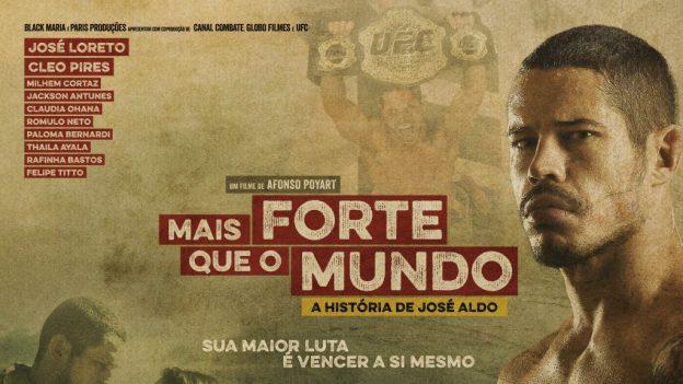 José Aldo é vivido na trama pelo ator José Loreto. Foto: Divulgação