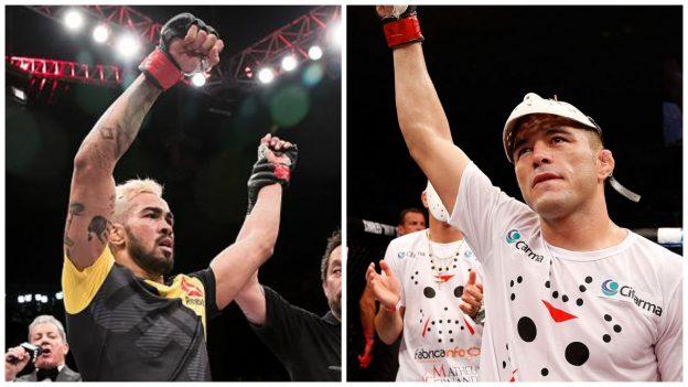 Pepey e Jason lutarão no UFC Fortaleza. Foto: UFC/Divulagção