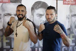 Pepey e Jason: os cearenses escalados para lutar no UFC Fortaleza. Foto: Aurélio Alves\O POVO