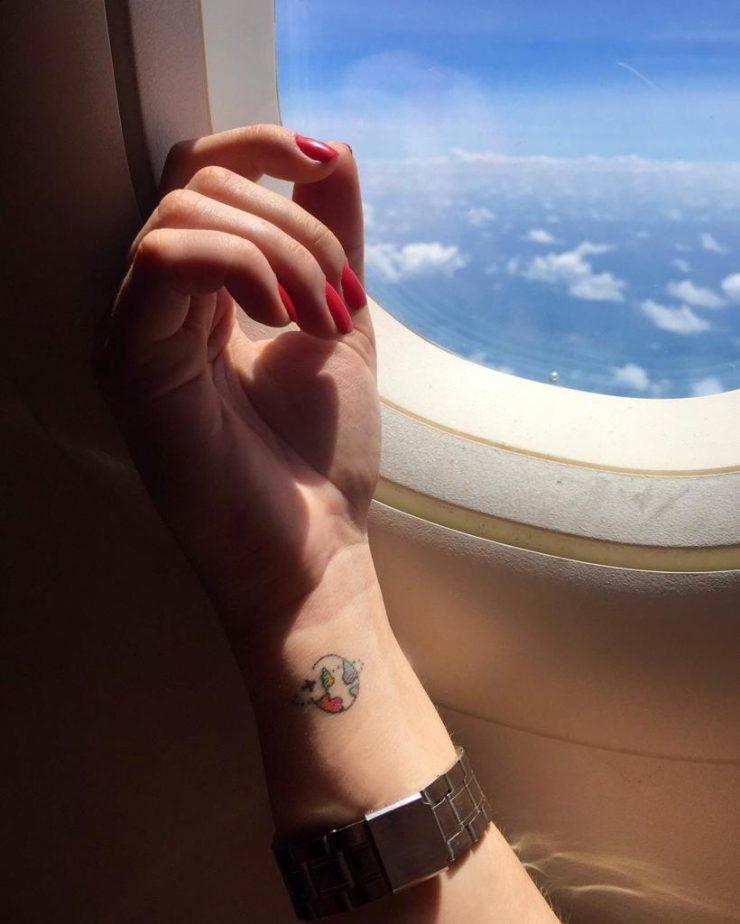 8 Inspirações De Tatuagens Para Quem Ama Viajar Dá Pra Viajar
