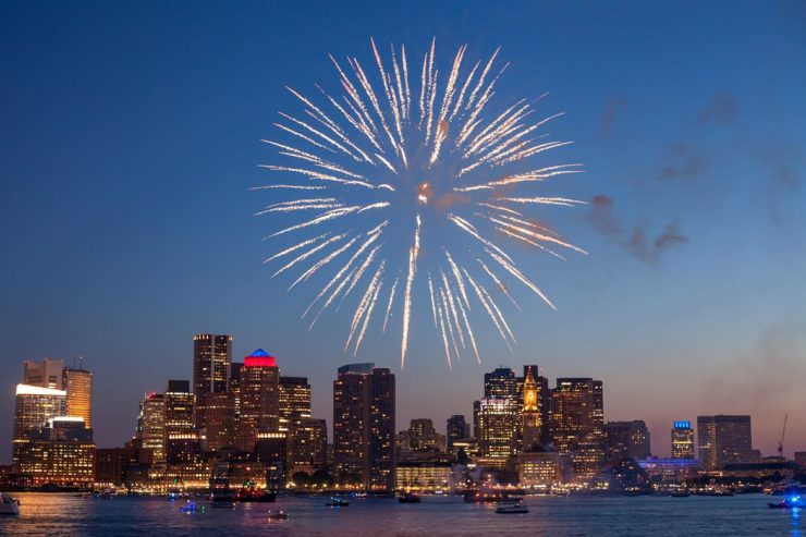 fogos de artifício ano novo