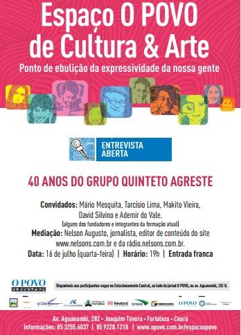 Entrevista Aberta_Grupo Agreste