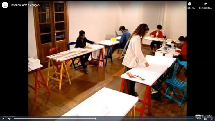 """Documentário """"Desenho: arte e criação"""""""