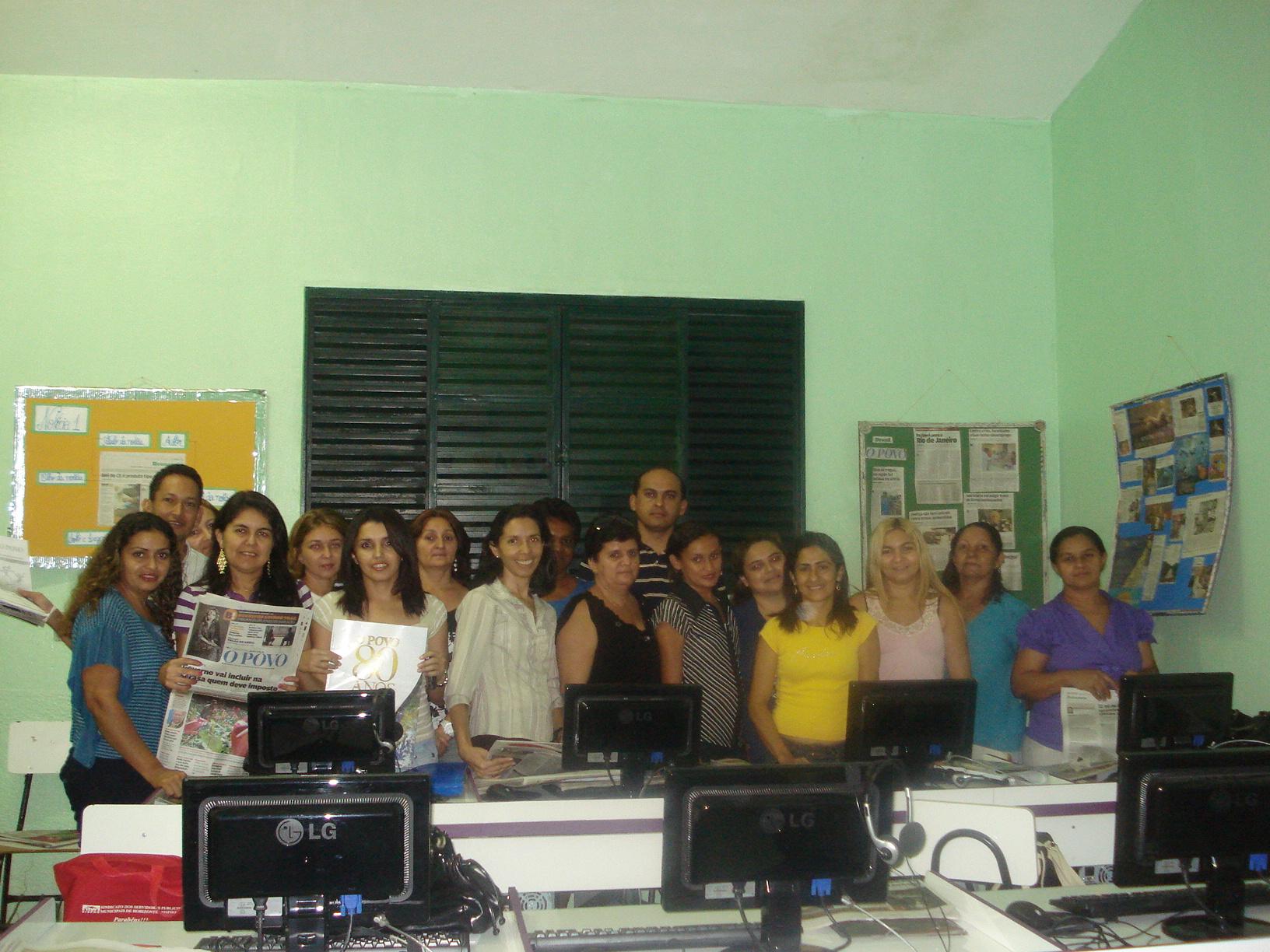 Educadores de Horizonte utilizam  O POVO em sala de aula