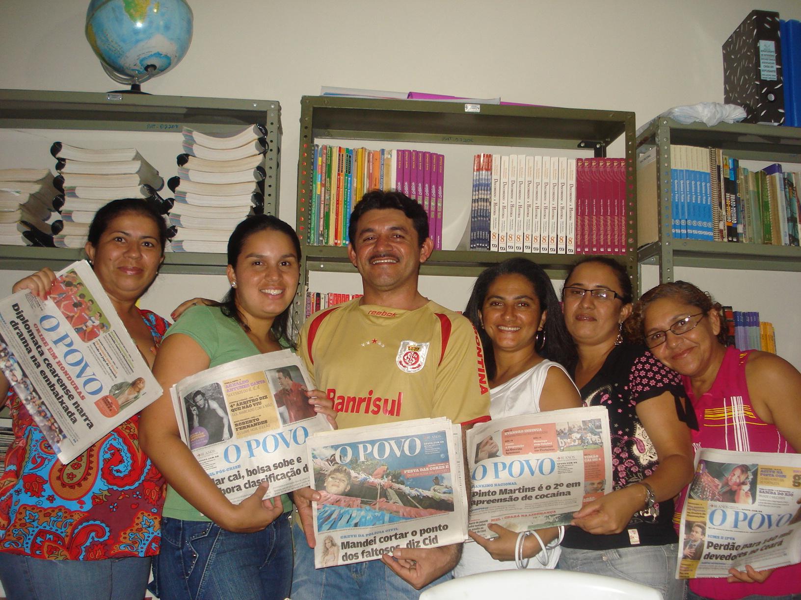 Educadores de Paracuru utilizam O POVO em sala de aula