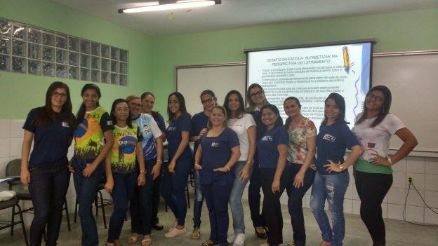 Educadoras do Infantil e Fundamental I do Colégio Guri