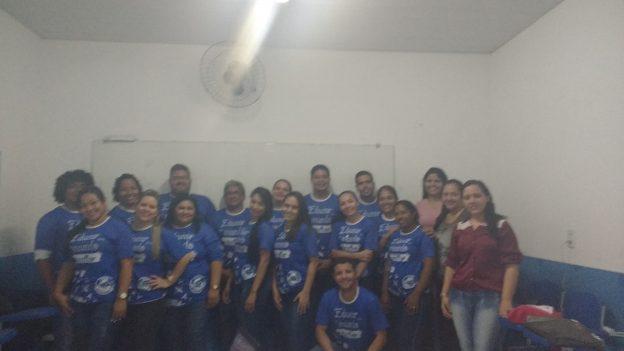 Equipe do Colégio Marinheiro Popeye