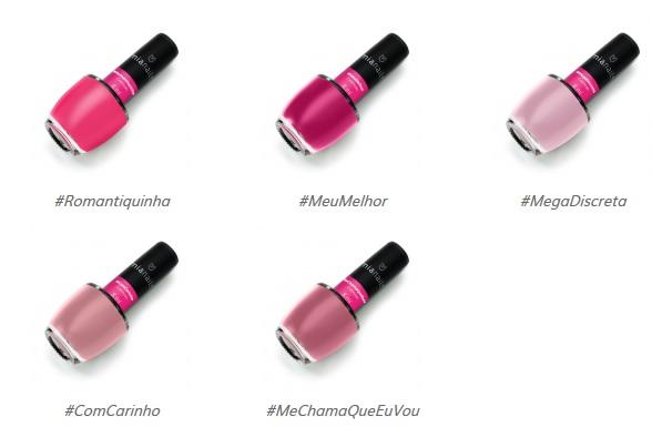 Qual é a cor que não pode faltar no kit de nenhuma amante dos esmaltes  O  rosa, claro! E eles vêm em diversos tons, desde o clarinho bebê até o pink  ... 522f58556b