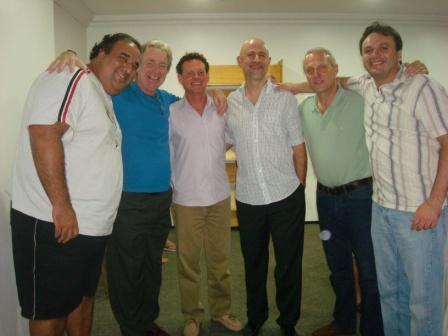 Drs. Danilo Vasconcelos, Philippe Manuard,Michael Mulholand, Raimund Engels, Marc Dupont, Jorge Brandão.
