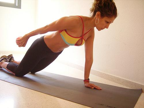 pilates ombro