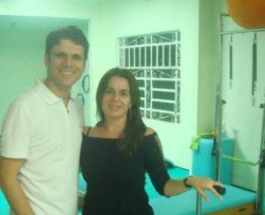 Meudo Filho e Marcia Santiago