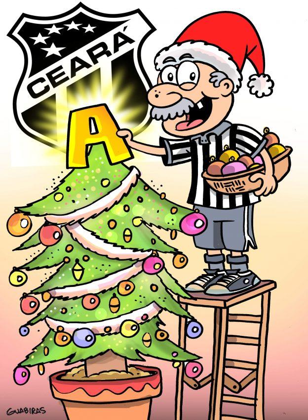 Charge  Ceará na Série A é presente de Natal antecipado - Futebol do ... 9af4c8f52fcd2