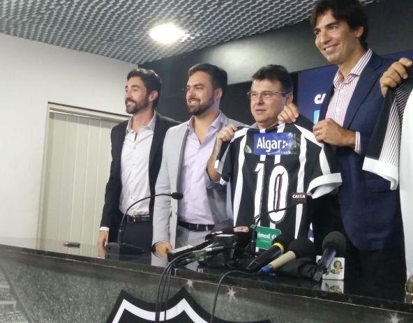 Novo patrocínio renderá ao Ceará R  1 milhão durante o Brasileirão ... d37c59c152cd5