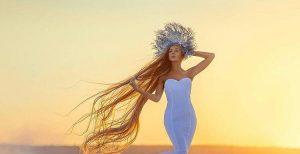 Rapunzel ucraniana: conheça a mulher que tem quase dois metros de cabelo