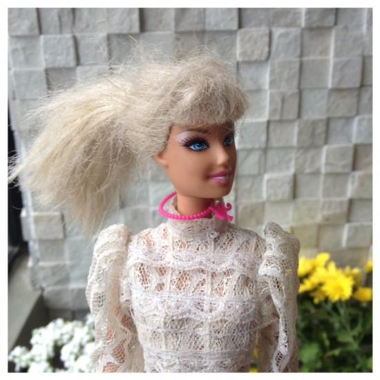barbie descabelada