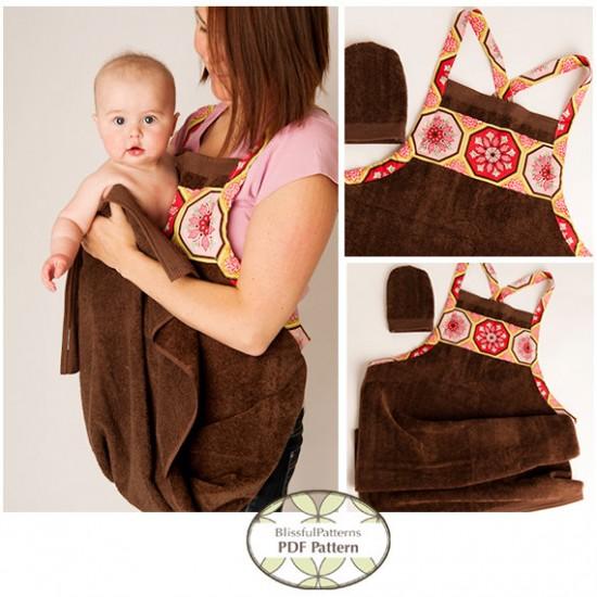 toalha de bebê
