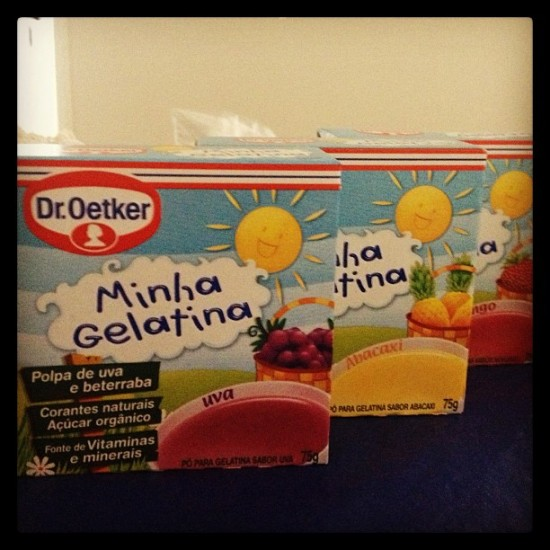 Minha Gelatina Dr. Oetker