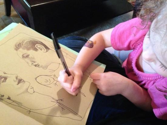 menina artista