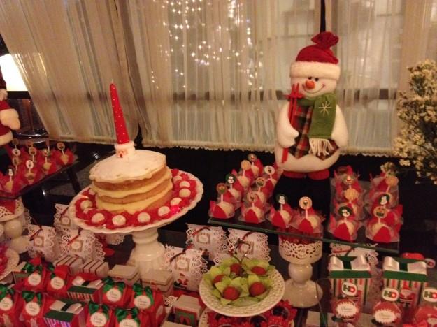 Festa infantil tema natal