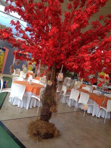 árvore de doces