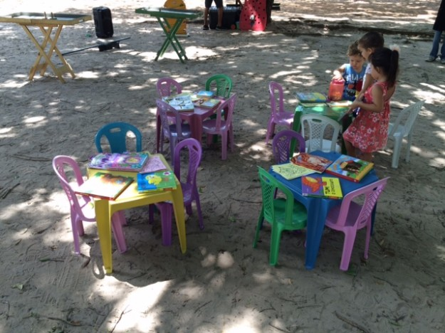 festa infantil picnic