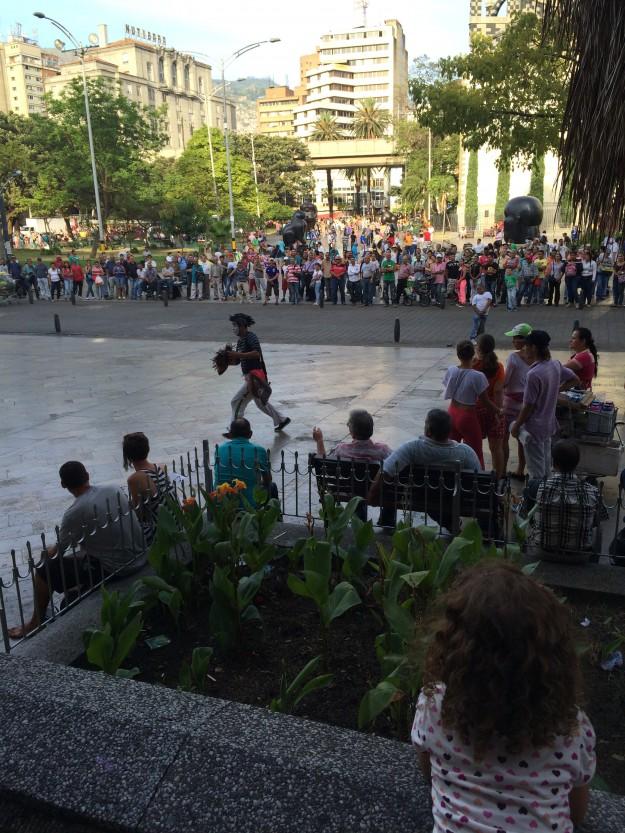 praça Botero Medellín
