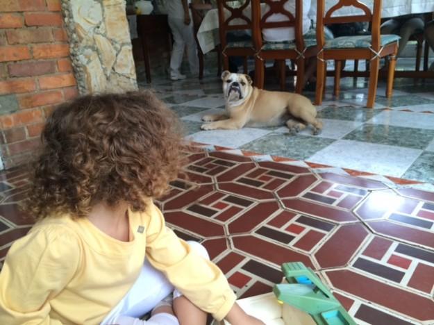 colombia com crianças