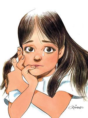 Vilma, a mulher do cartunista Ziraldo e avó de Nina (que tinha 7 anos na época), morreu em 2000. Dois anos depois, a história dela com os netos se transformou em Menina Nina, Duas Razões para Não Chorar (Ed. Melhoramentos).