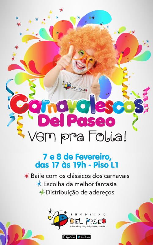 Bailinho De Carnaval No Shopping Del Paseo Imãe
