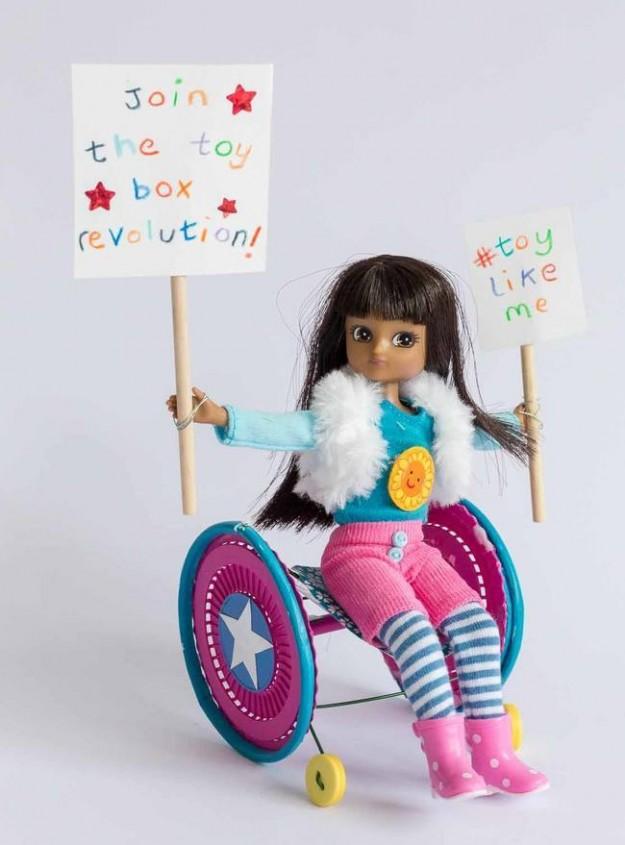 bonecas inclusão