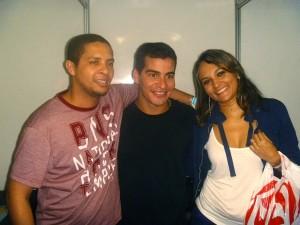 Alex Samuel Miranda, Tiago Martins e Natália Gomes