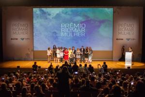 Jornalista Luciana Dummar entre as homenageadas de 2015 com o Prêmio RioMar Mulher