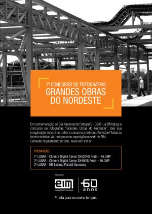 Concurso Fotografia_Grandes Obras Nordeste