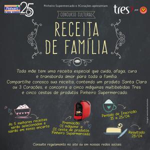 Concurso Receita de Família_Pinheiro Supermercado