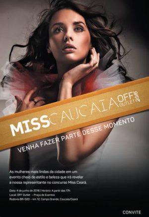 Miss Caucaia Convite